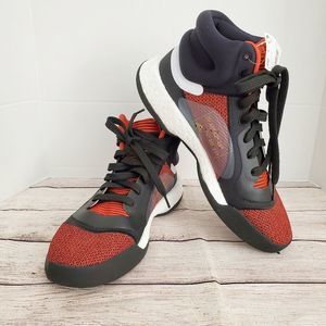 Adidas Marquee Boost  Basketball Shoes - Red Mens